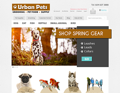 Urban Pets Store